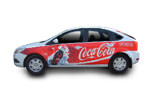 Услуга брендирования машин